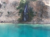 Green Lakes blue where it was shallower