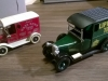 Two model delivery vans