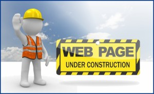 construction on webpage